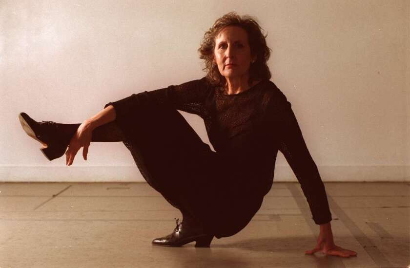Trisha Brown retrospective will lift off at UCLA and beyond