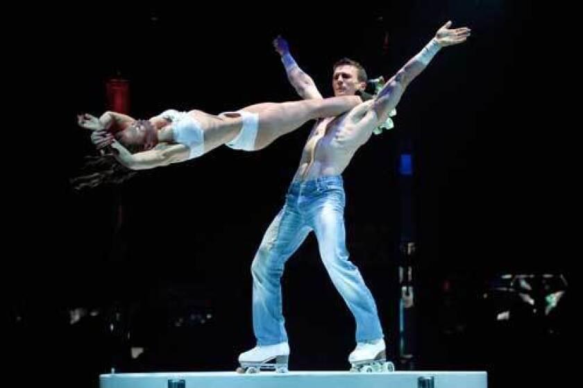 Cirque without Shirts: 'Absinthe' at Caesars Palace