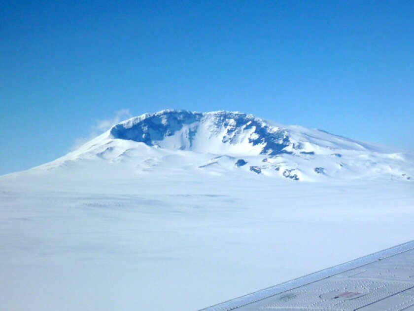 Antarctic volcanoes