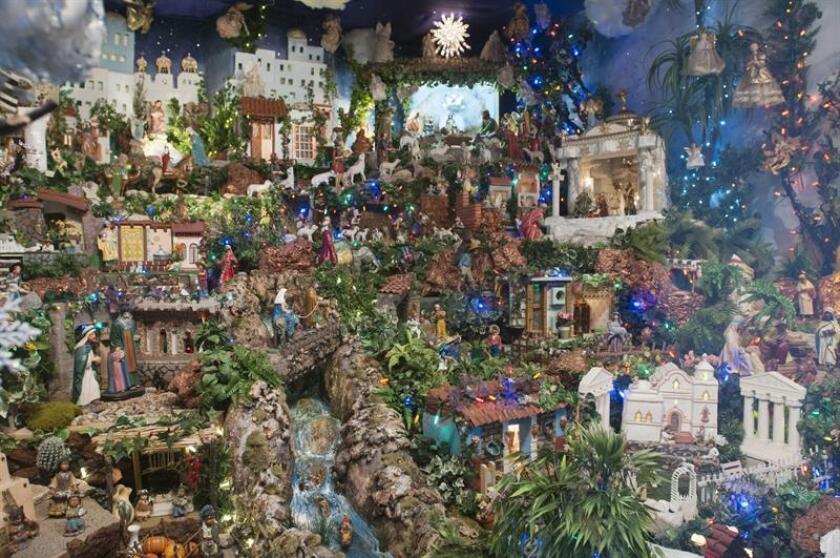 Los pesebres, como se conocen las tradicionales representaciones del nacimiento de Jesús, antes presentes cada diciembre en lugares públicos del país, ya no generan reacciones estrictamente positivas como en el pasado, sino que causan todo tipo de complicados y costosos enredos legales. EFE/ARCHIVO