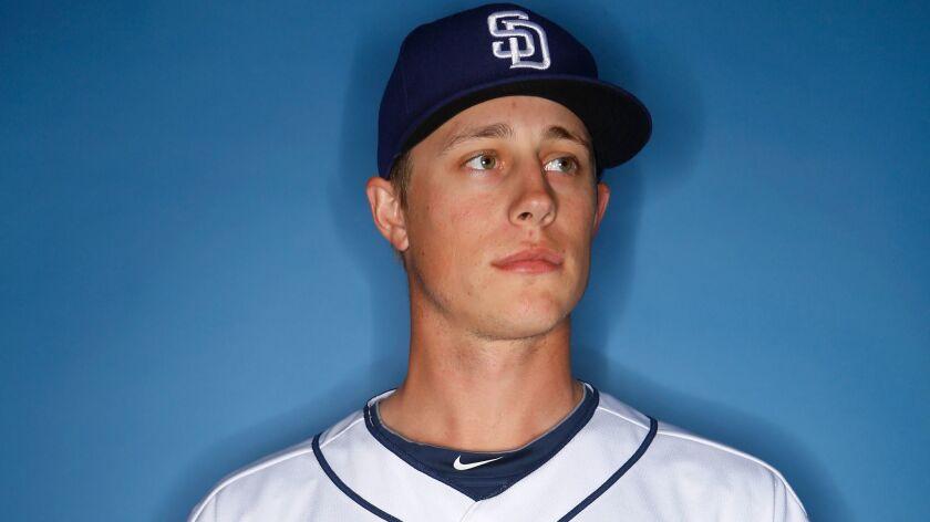 San Diego Padres pitcher Phil Maton. (Photo by K.C. Alfred/The San Diego Union-Tribune)