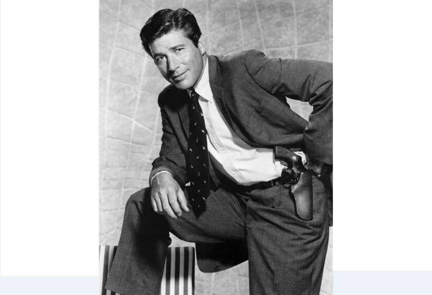 """Efrem Zimbalist Jr. (1918-2014) -- An actor who costarred on TV's """"77 Sunset Strip"""" and later starred as Inspector Lewis Erskin on """"The F.B.I."""""""