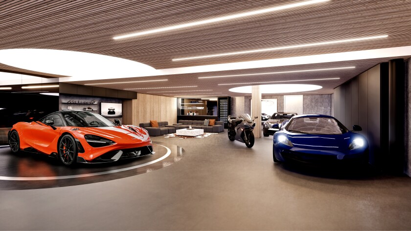 The Pendry Residences' $16-million package includes a two-story penthouse and a one-year lease on a McLaren 765LT supercar.