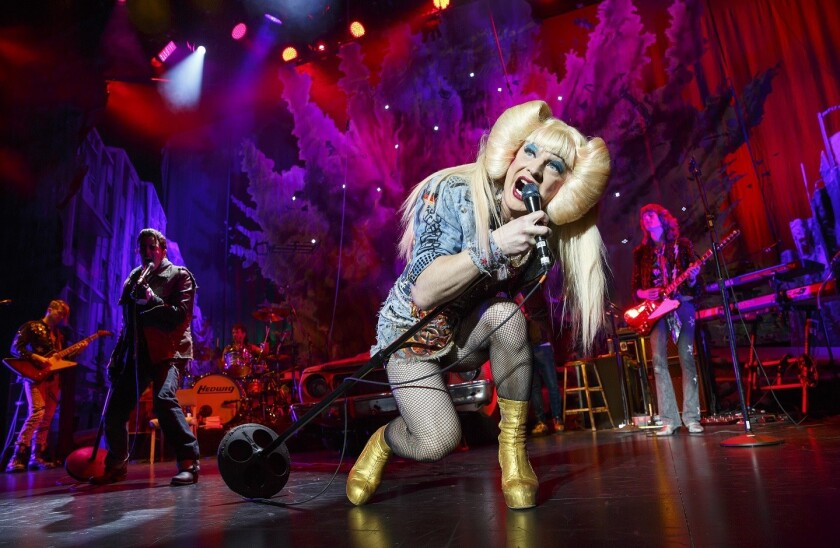"""Euan Morton in """"Hedwig and the Angry Inch."""""""