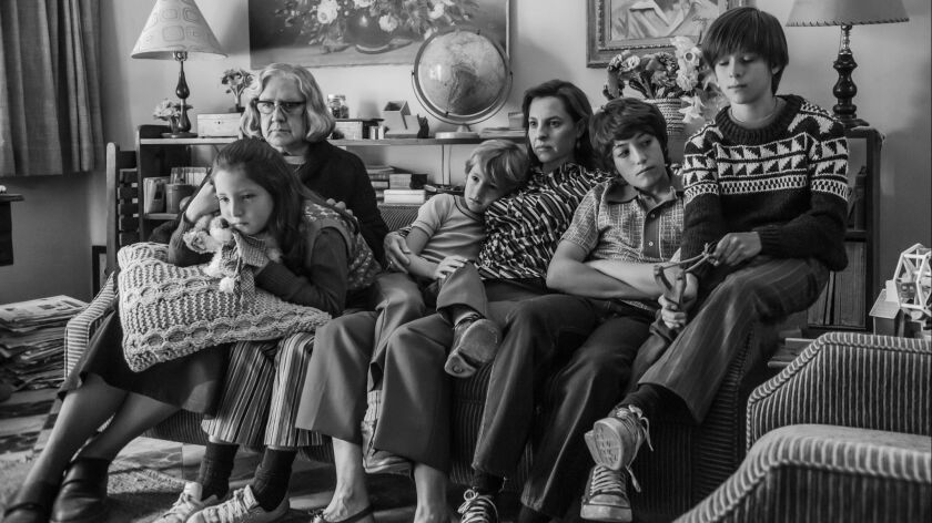 Roma (2018), a story that chronicles a year in the life of a middle-class family in Mexico City in t