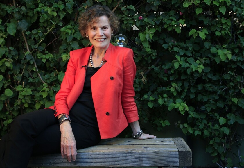 """Judy Blume, photographed in 2013, came to the rescue of a man who gave away his wife's copy of the author's book """"Are You There, God? It's Me, Margaret."""""""