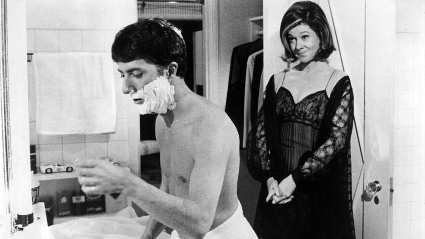 """In """"The Graduate,"""" Elizabeth Wilson was the picture of suburban cluelessness as the mother of confused, young Benjamin Braddock (Dustin Hoffman)."""