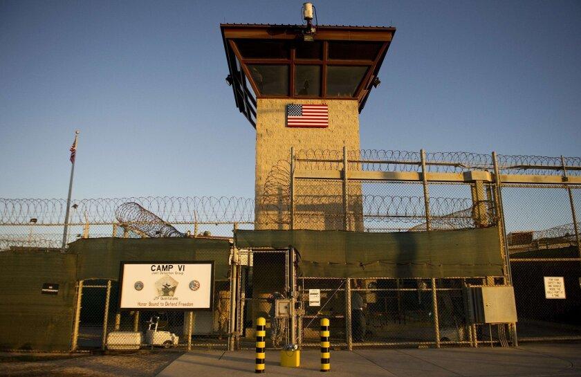 Human rights group calls for closing Guantanamo Bay prison in Cuba