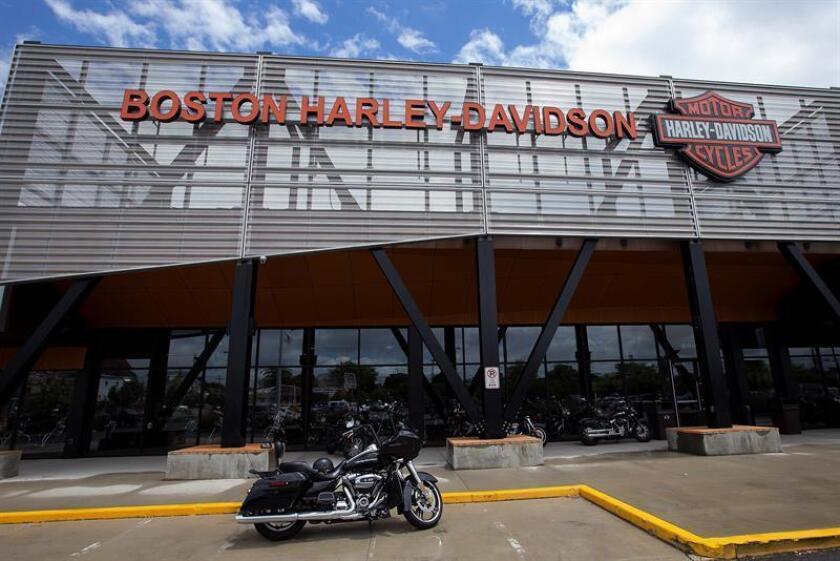 Concesionario Harley-Davidson en Revere, EEUU, el 25 de junio del 2018. EFE