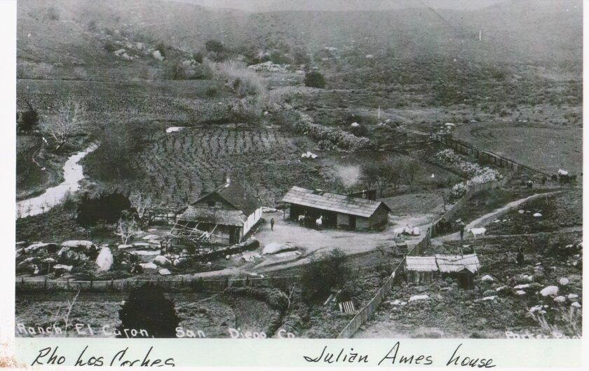 The Ames family ranch, circa 1900