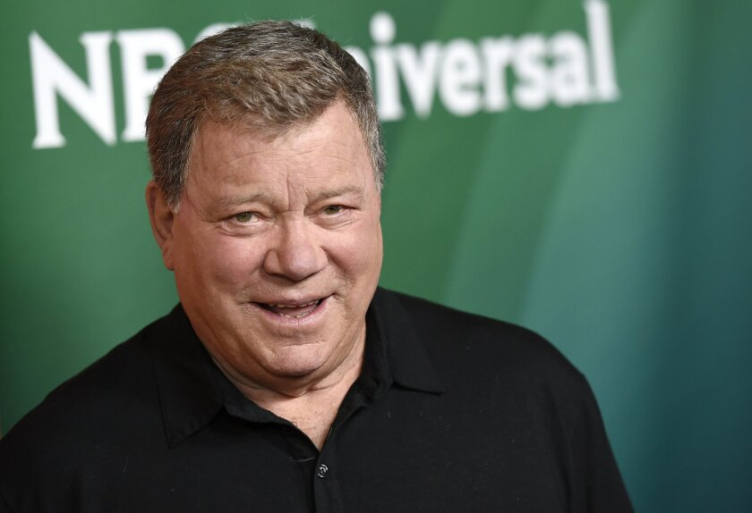 """FILE - In this April 2, 2015 file photo, William Shatner arrives at the NBC Universal Summer Press Day at The Langham Huntington Hotel in Pasadena, Calif. Shatner's latest memoir, """"Leonard: My Fifty-Year Friendship with a Remarkable Man,"""" is out Tuesday, Feb. 16, 2016. In the book, Shatner details"""
