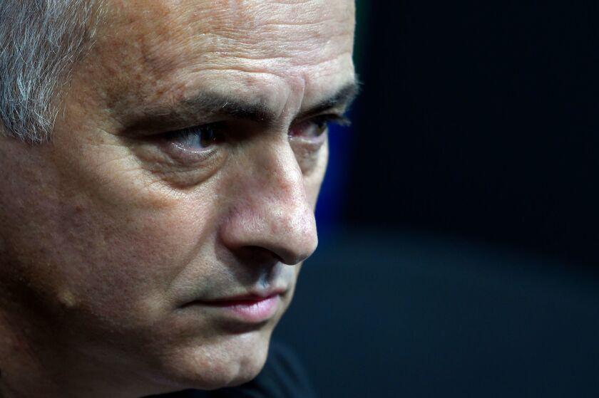 Jose Mourinho. (Photo by JOSE JORDAN / AFP)JOSE JORDAN/AFP/Getty Images