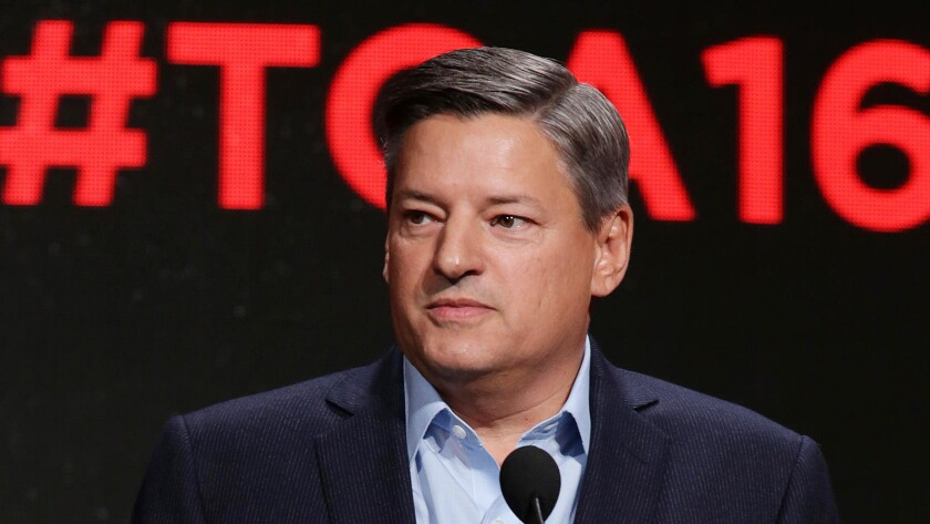 Chief Content Officer Ted Sarandos
