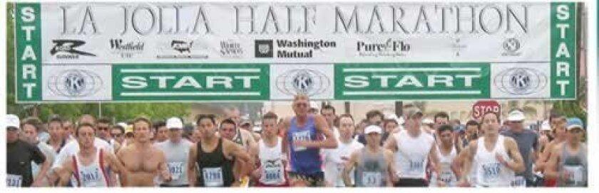 An image from last year's La Jolla Half Marathon