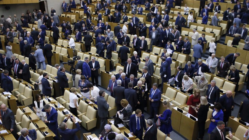 The Russian State Duma, the lower chamber of parliament, has passed an anti-terrorism measure that many see as an attack on freedom of speech and privacy.