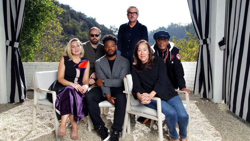 BEL AIR, CA, 11/18/2018: The Envelope Live Directors Roundtable took place with Spike Lee (Black