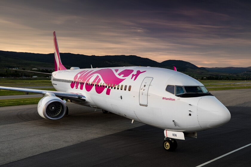 Swoop, a low cost carrier based in Canada, will soon be flying between San Diego and Edmonton three days a week.