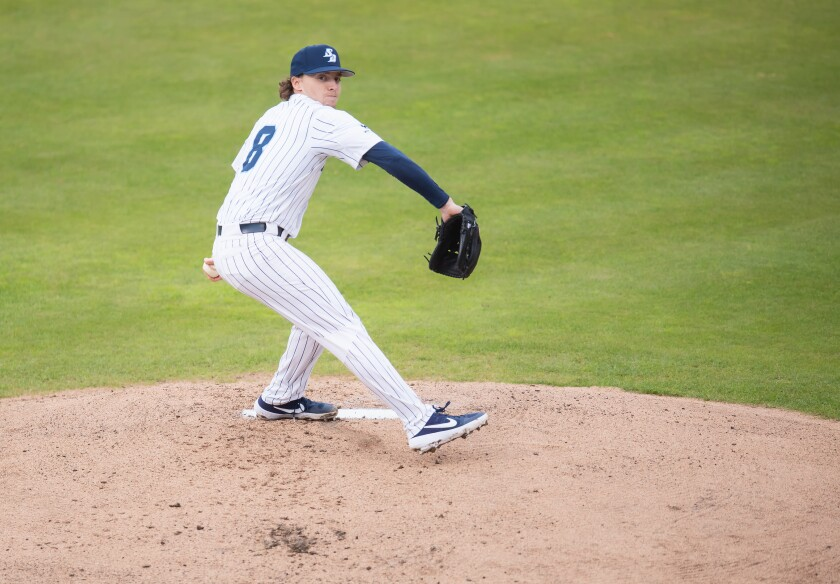 Junior left-hander Chris Murphy has been the ace of the staff this season for the Toreros.