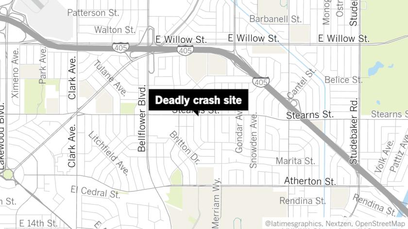 "A map shows the ""deadly crash site."""