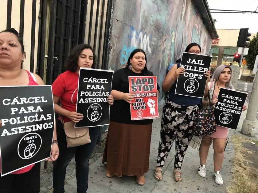 Escarmiento a LAPD por muerte de latino; 'Una palmada en la mano'
