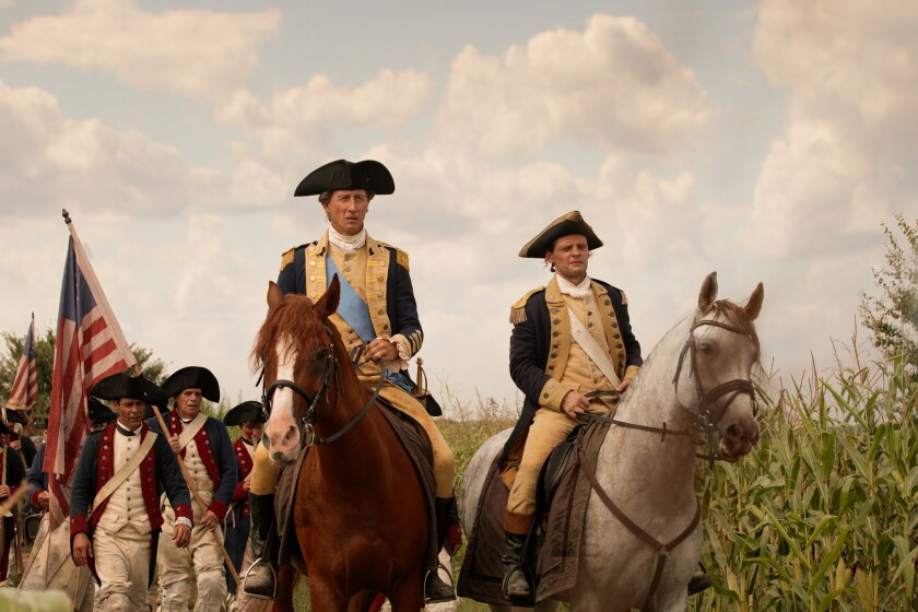 """The three-night docu-special """"Washington"""" begins Sunday on the History Channel."""