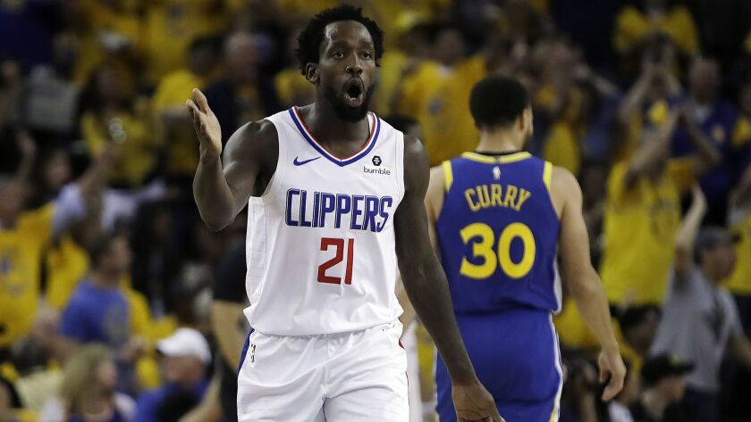 finest selection 7a867 b2c63 Clippers guard Patrick Beverley challenges team to stand up ...