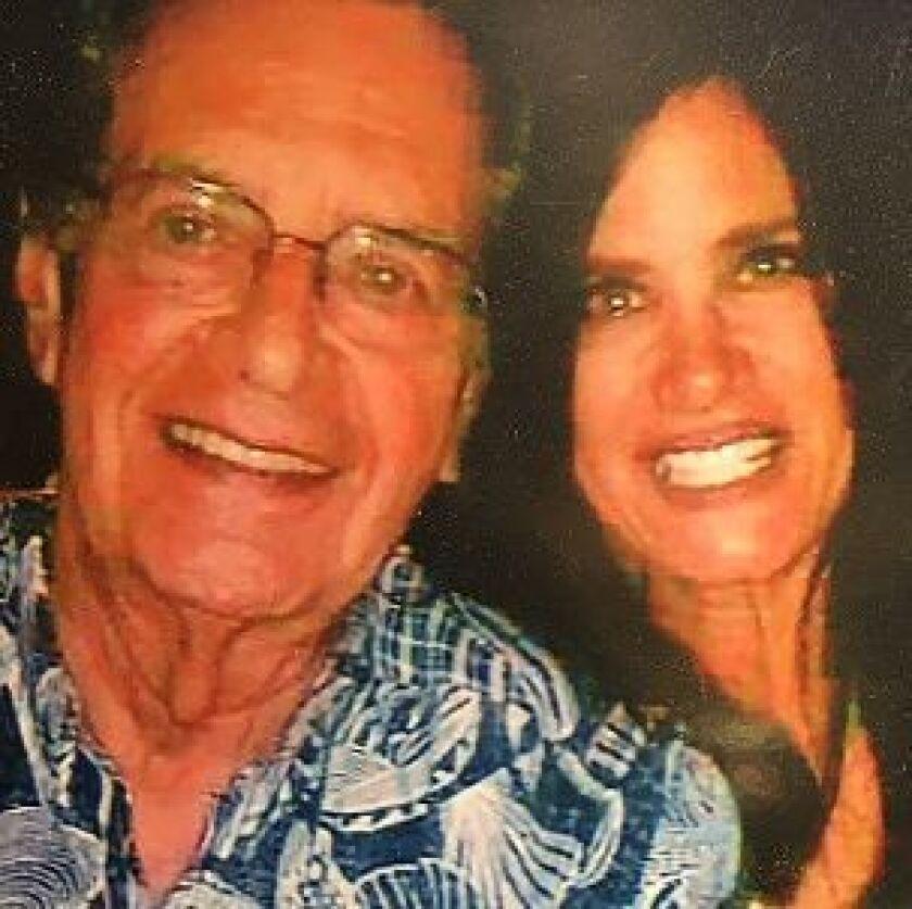 Randi Kolender-Hock with her father, Bill Kolender