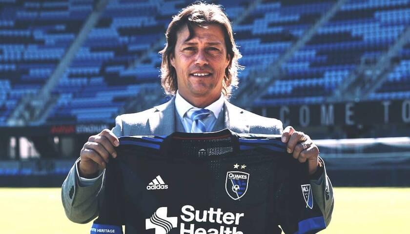 Matías Almeyda, nuevo estratega del San Jose Earthquakes de la MLS.