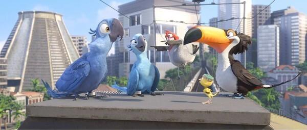 Famous Rio de Janeiro landmarks get animated in 'Rio'
