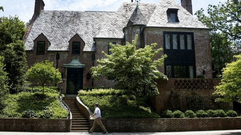 The Obamas have purchased the mansion they'd been renting in Washington, D.C.
