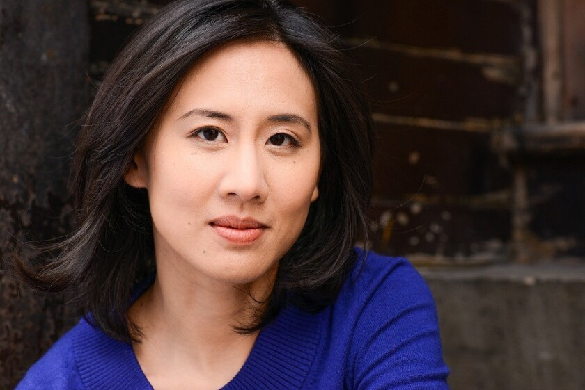 """Celeste Ng. Author of the book """"Everything I Never Told You"""" by Celeste Ng. Published by The Penguin"""