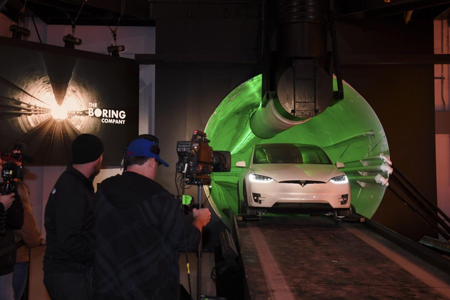 Elon Musk tunnel under Hawthorne