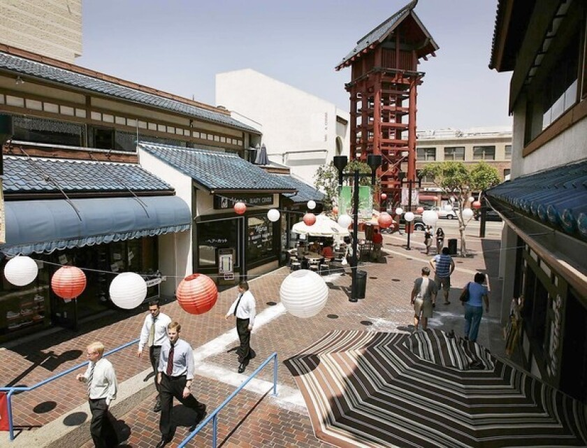 Japanese Village Plaza is a cornerstone of Little Tokyo.