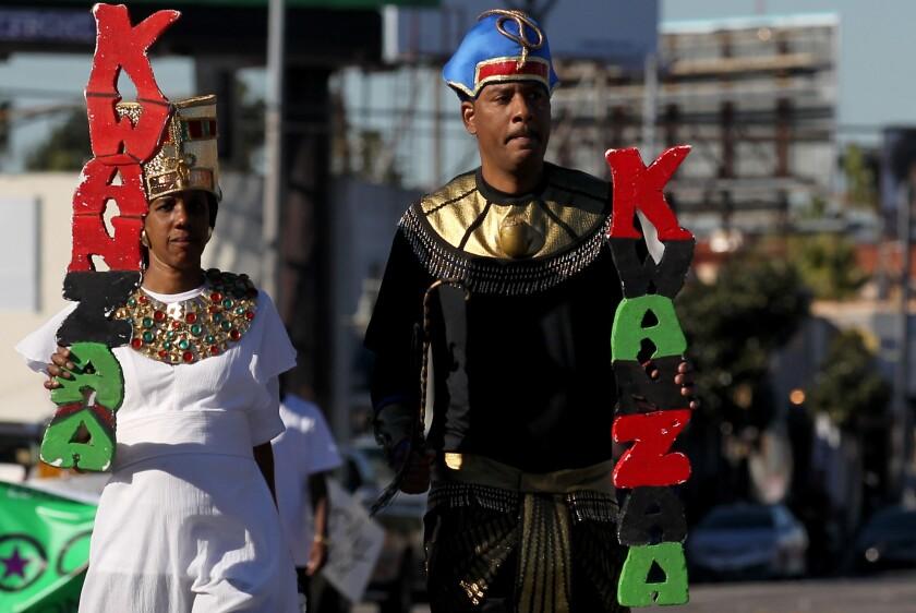 38th KwanZaa Gwaride parade