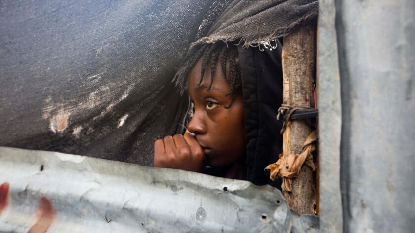 Haiti await Hurricane Matthew
