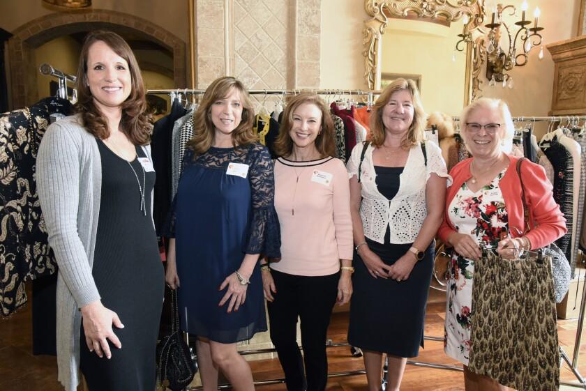 DreamKeepers Project Inc. board member Kaitlin Tate, Jolynn Shapiro, Maureen Billington, Pam Heater, Peggy Korody