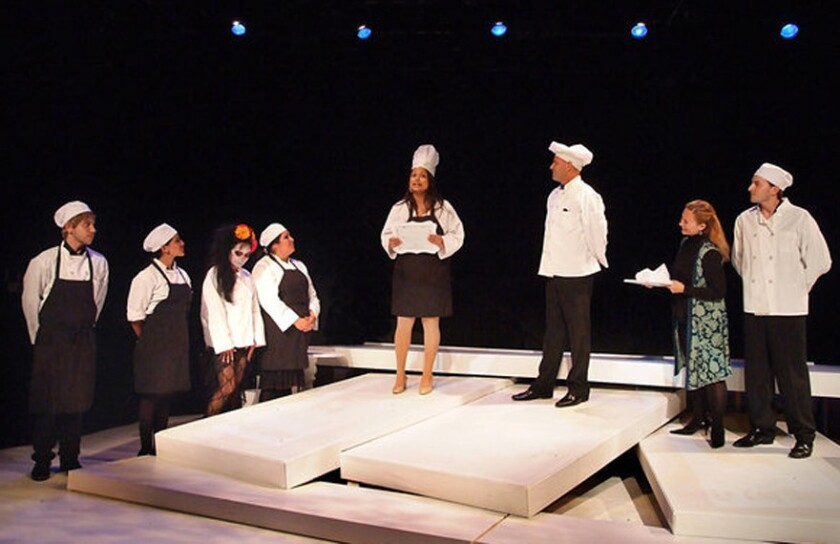 Review: 'Hungry Woman' finds tasty universality at Casa 0101 Theater