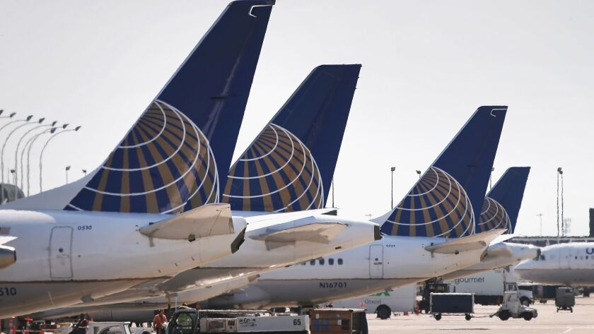 FILE: United Airlines Flights Grounded Due to Computer Problem