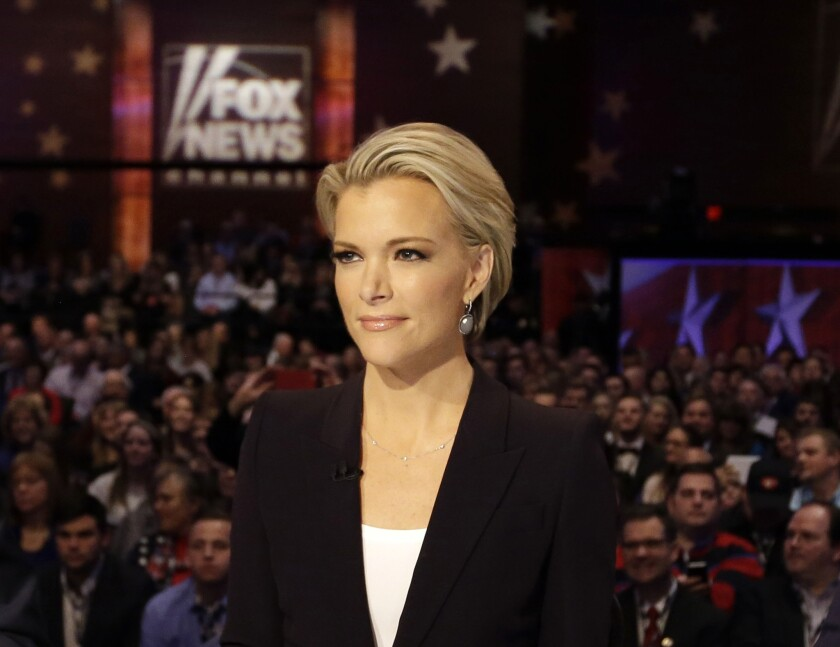 Chris Wallace, Megyn Kelly and Bret Baier