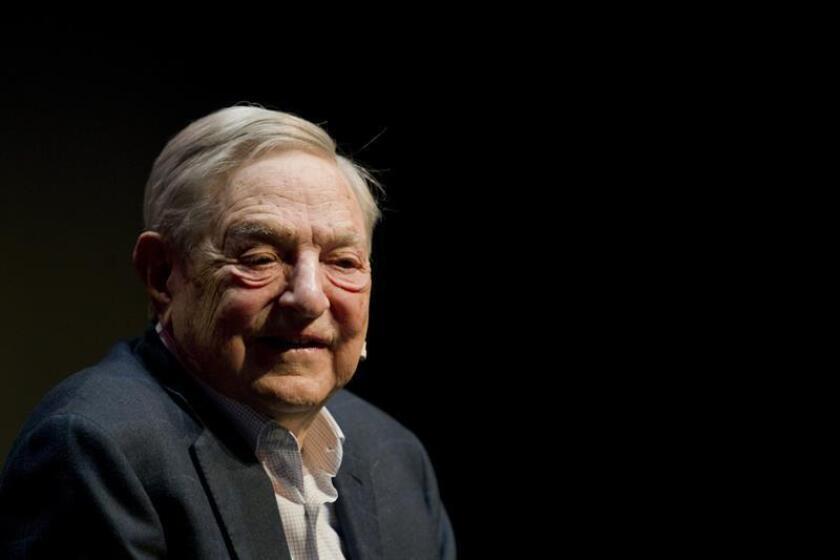 El financiero estadounidense de origen húngaro George Soros. EFE/Archivo