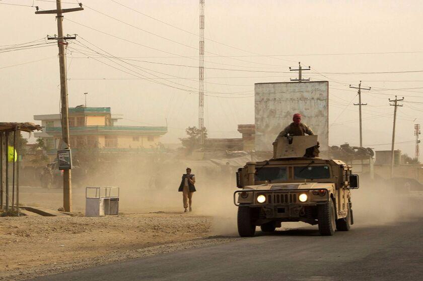 Fighting in Kunduz, Afghanistan