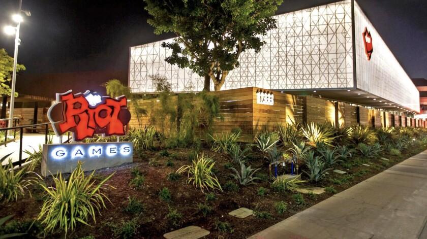 Riot Games' campus in West Los Angeles.