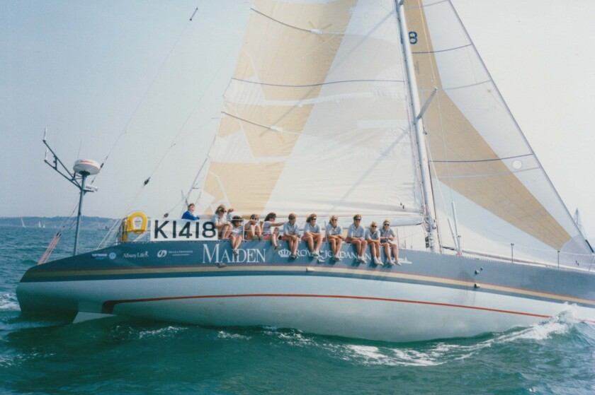 """Maiden"" tells the story of the first all-female crew to compete in the Whitbread Round the World Race."