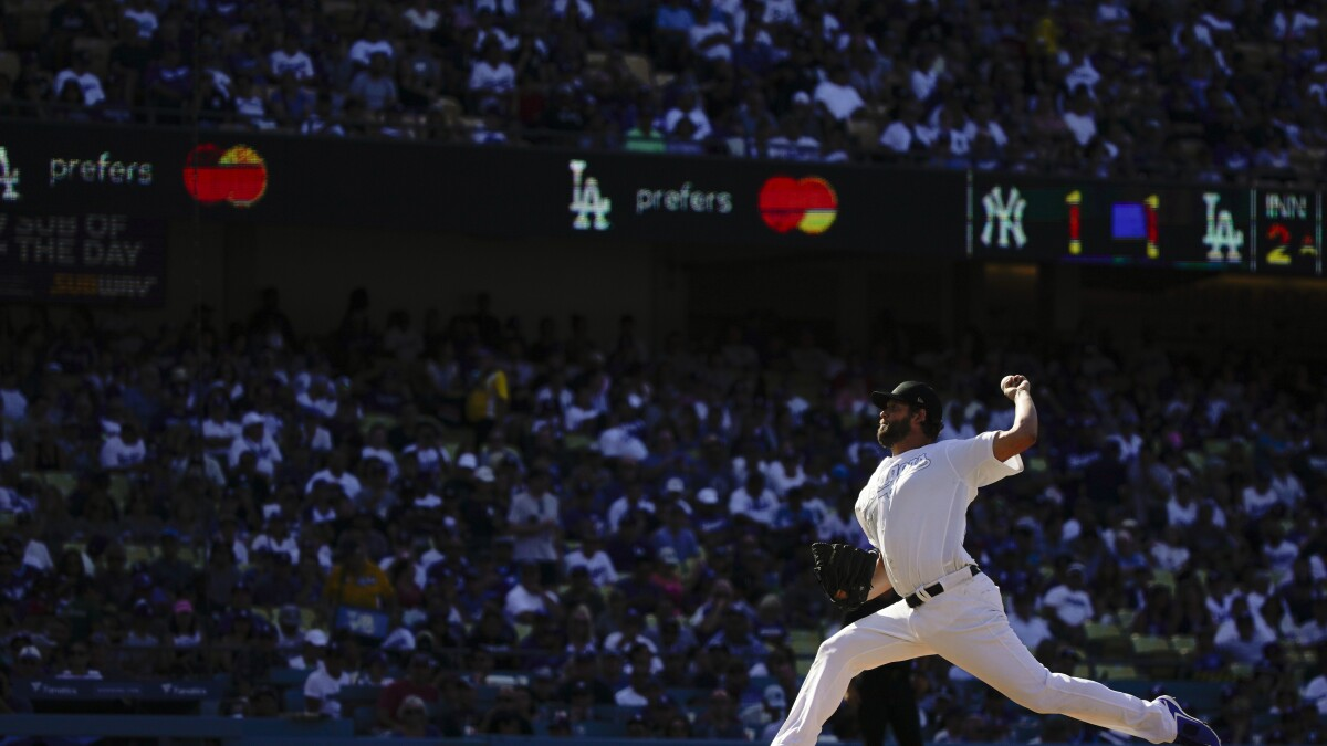 Dodgers can't stymie Yankees' opportunistic ways in loss