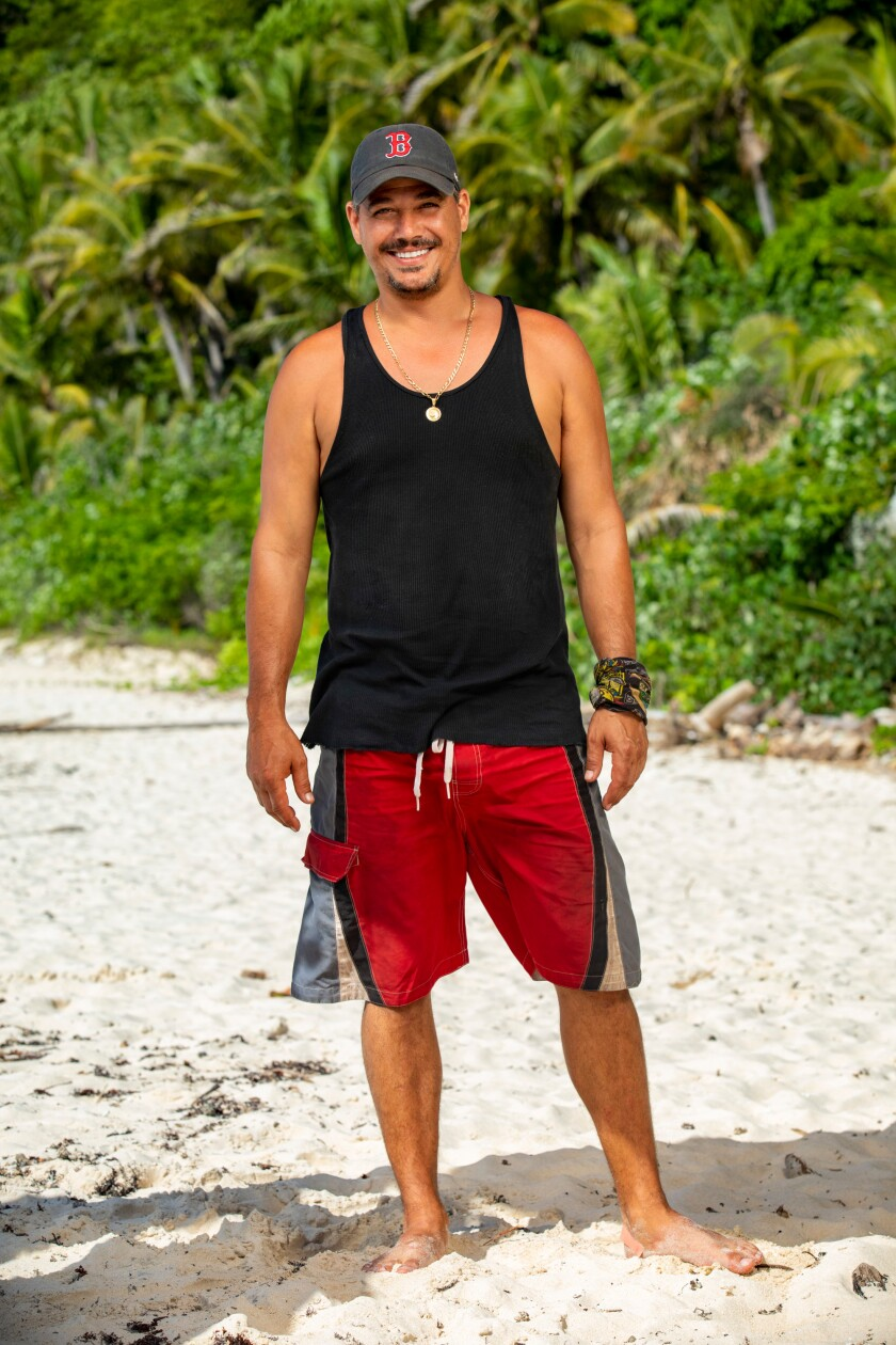 "Rob Mariano, better known as ""Boston Rob,"" one of the mentors of ""Survivor: Island of the Idols."""