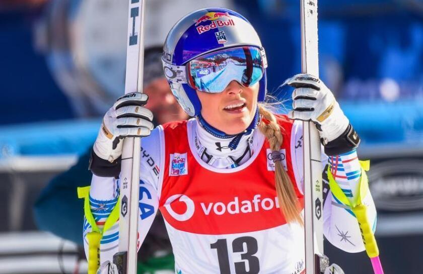 La esquiadora estadounidense Lindsey Vonn. EFE/Archivo