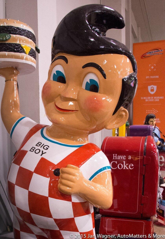 Bob's Big Boy restaurant Road Art