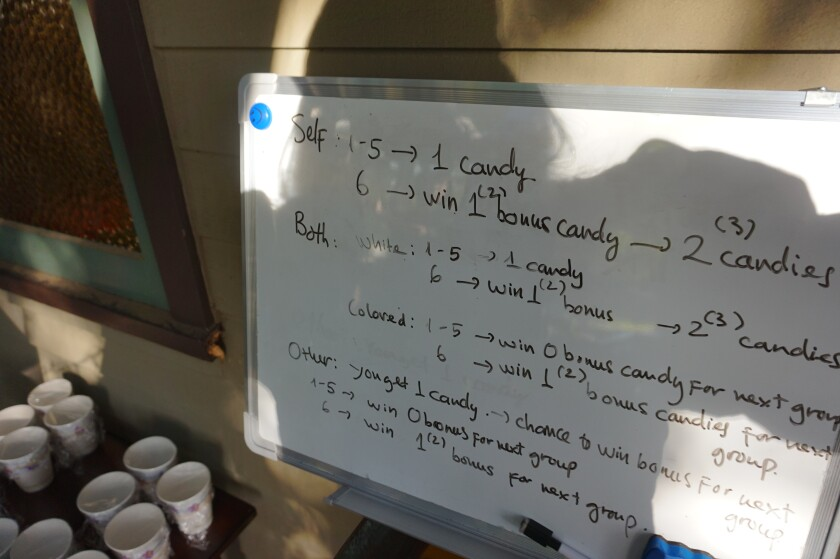 Research plan on a whiteboard
