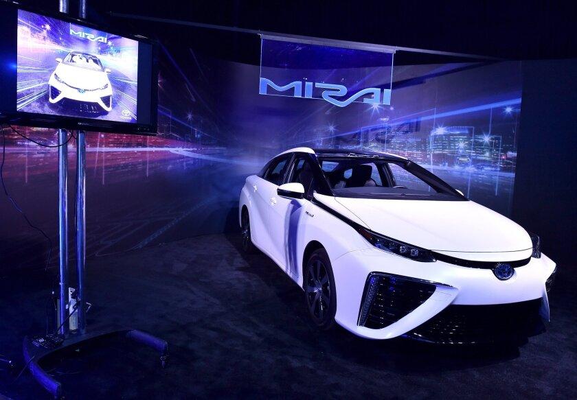 Toyota's Mirai fuel cell vehicle