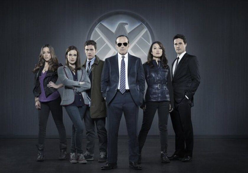 "The cast of ""Marvel's Agents of S.H.I.E.L.D."""